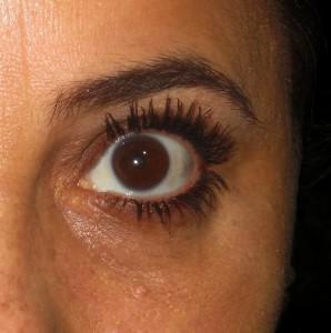 Efeito: olhos maiores
