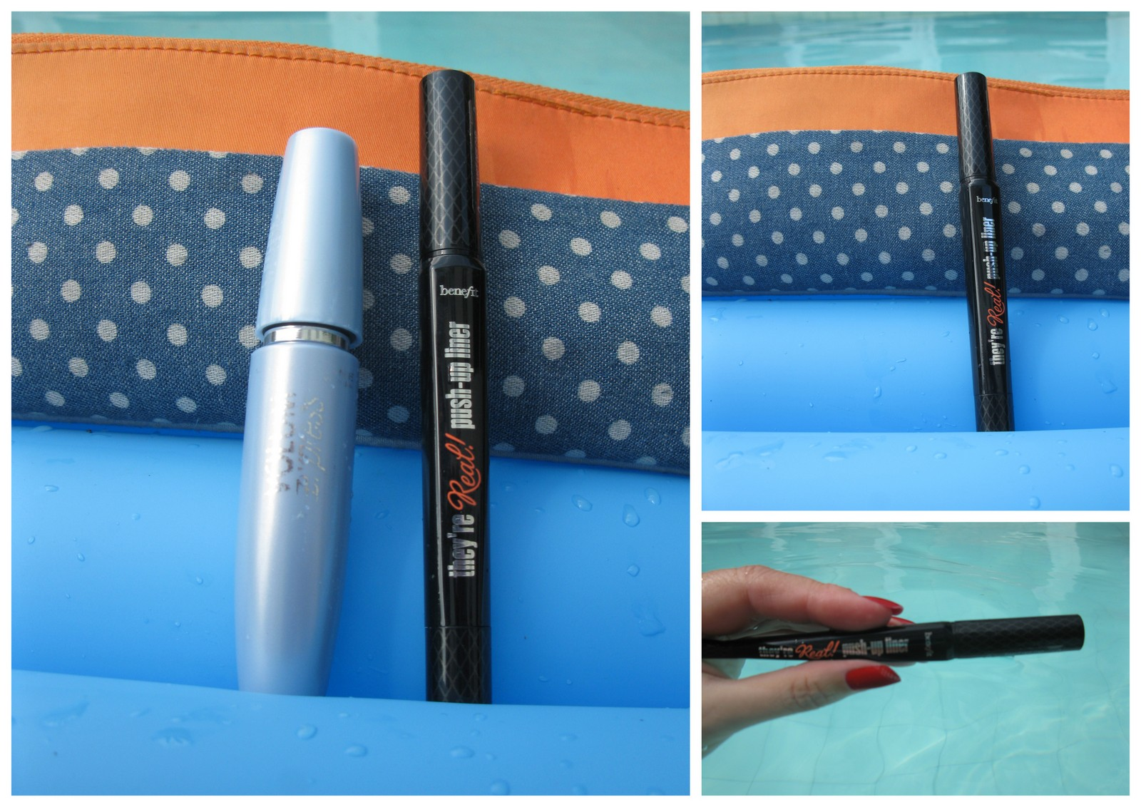 Volum Express Maybelline / They're Real Push-up Liner Benefit